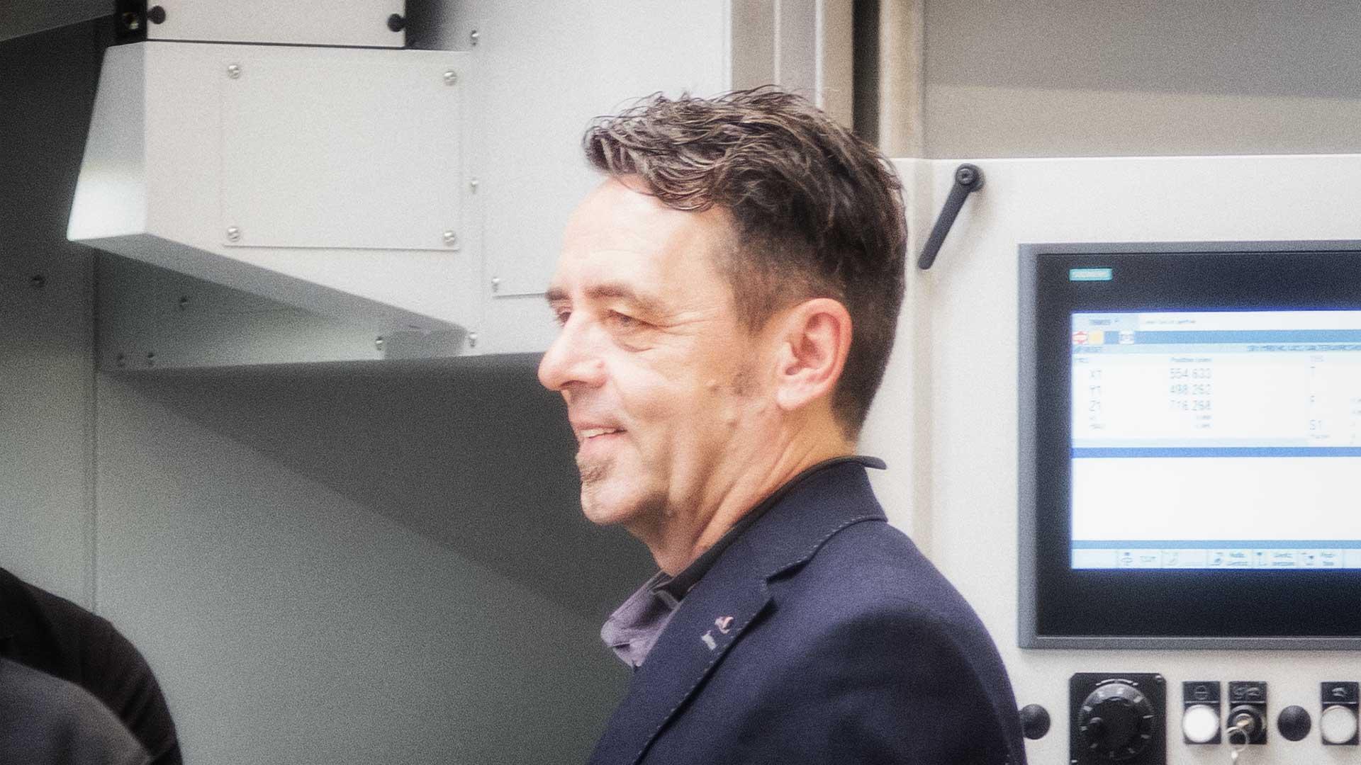 Geschäftsführer Spinner AG - G. Egger