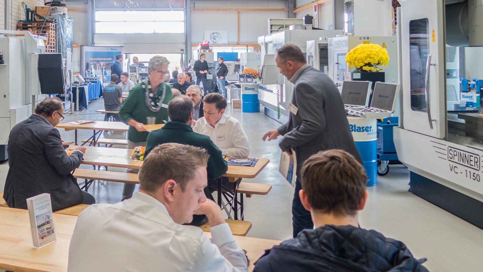 Spinner AG - Hausausstellung 2018 Besucher