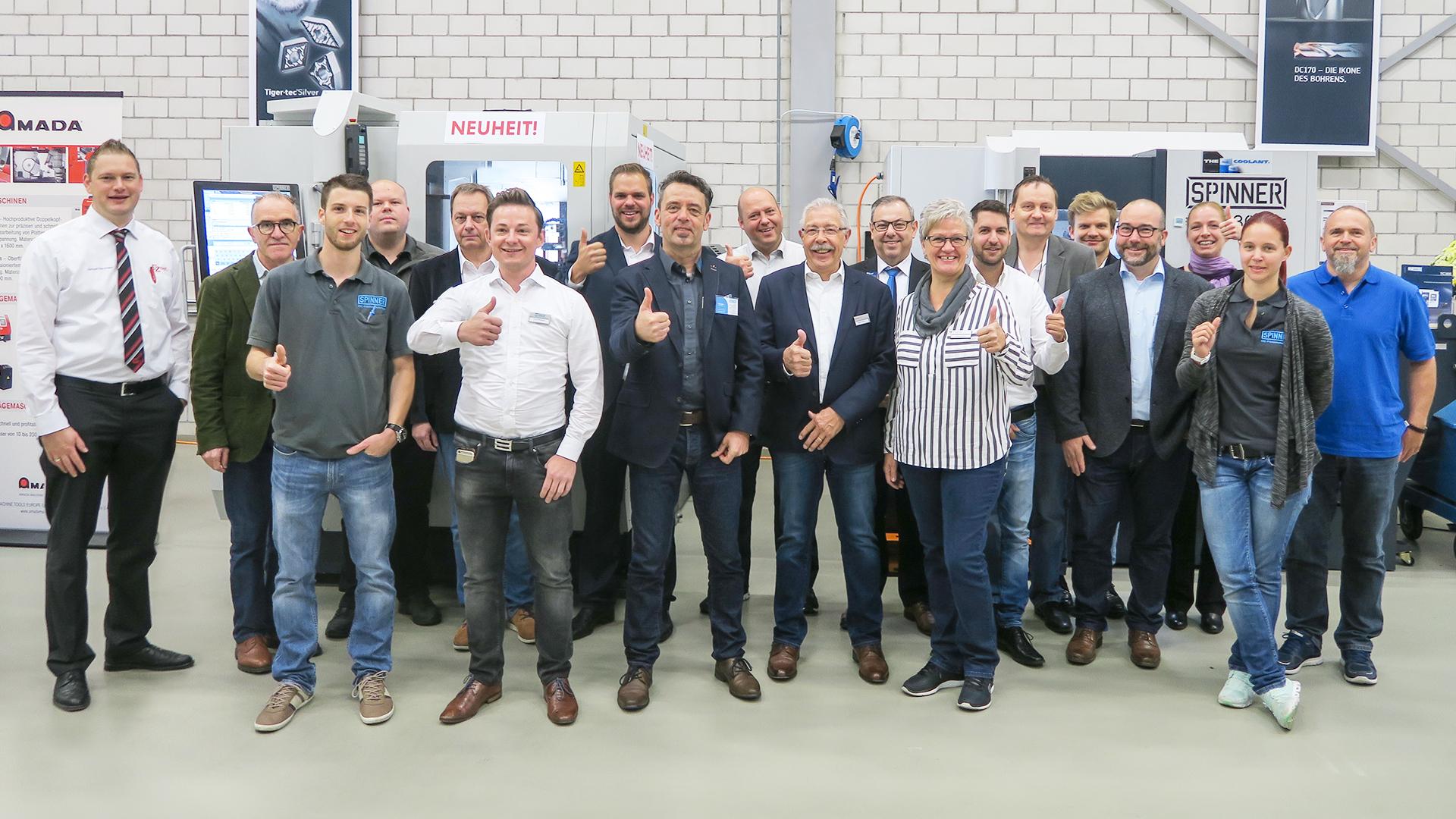 Spinner AG - Netzwerk