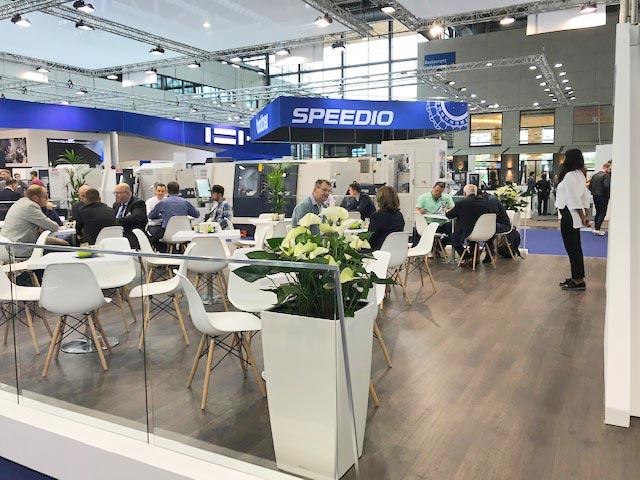 Spinner AG - Messestand EMO 2019