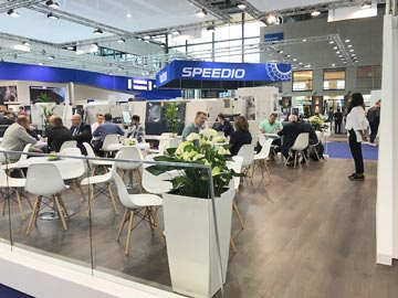 Spinner AG - Messestand EMO 2019