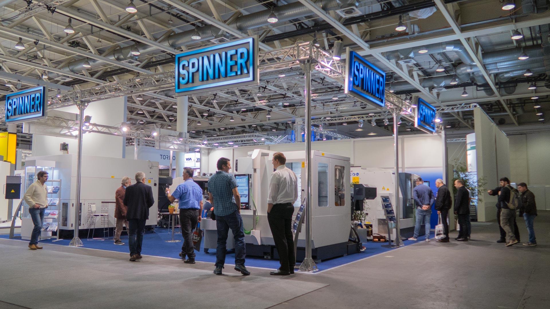 Spinner AG - Messestand Prodex 2019