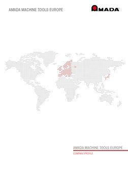 Spinner AG - Amada Machine Tools Europe Unternehmensbroschüre (englisch)