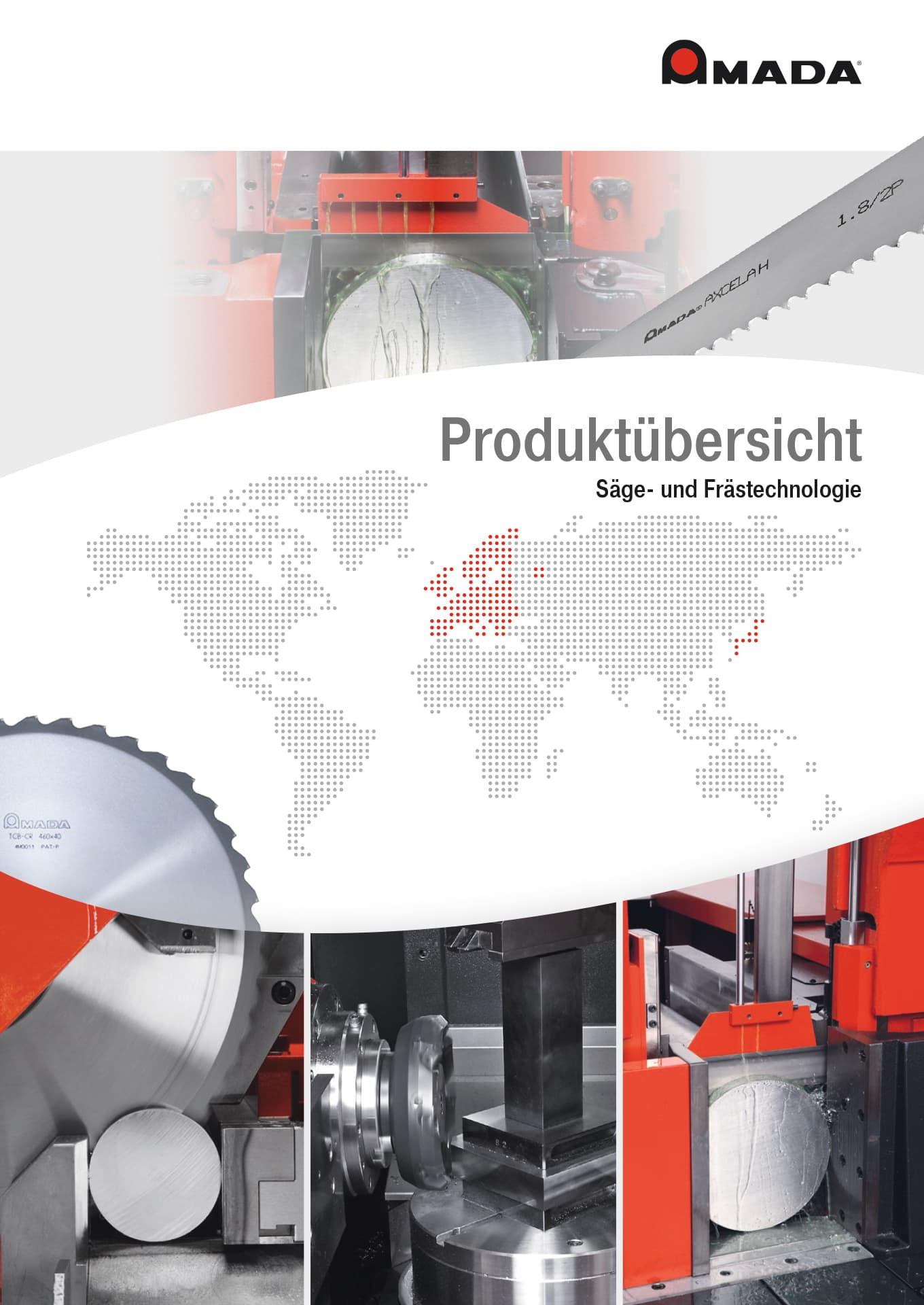 PDF-Vorschau Amada Machine Tools Europe Produktkatalog (deutsch)