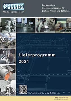 Spinner AG - Spinner Werkzeugmaschinenfabrik GmbH – Vorschau Lieferprogrammm