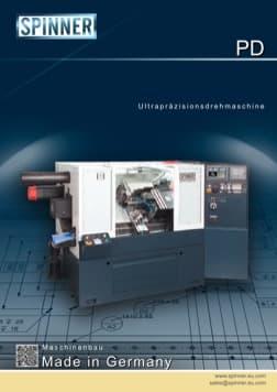 - Spinner Werkzeugmaschinenfabrik GmbH – Vorschau Prospekt PD (deutsch)