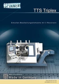 - Spinner Werkzeugmaschinenfabrik GmbH – Vorschau Prospekt TTS Triplex (deutsch)
