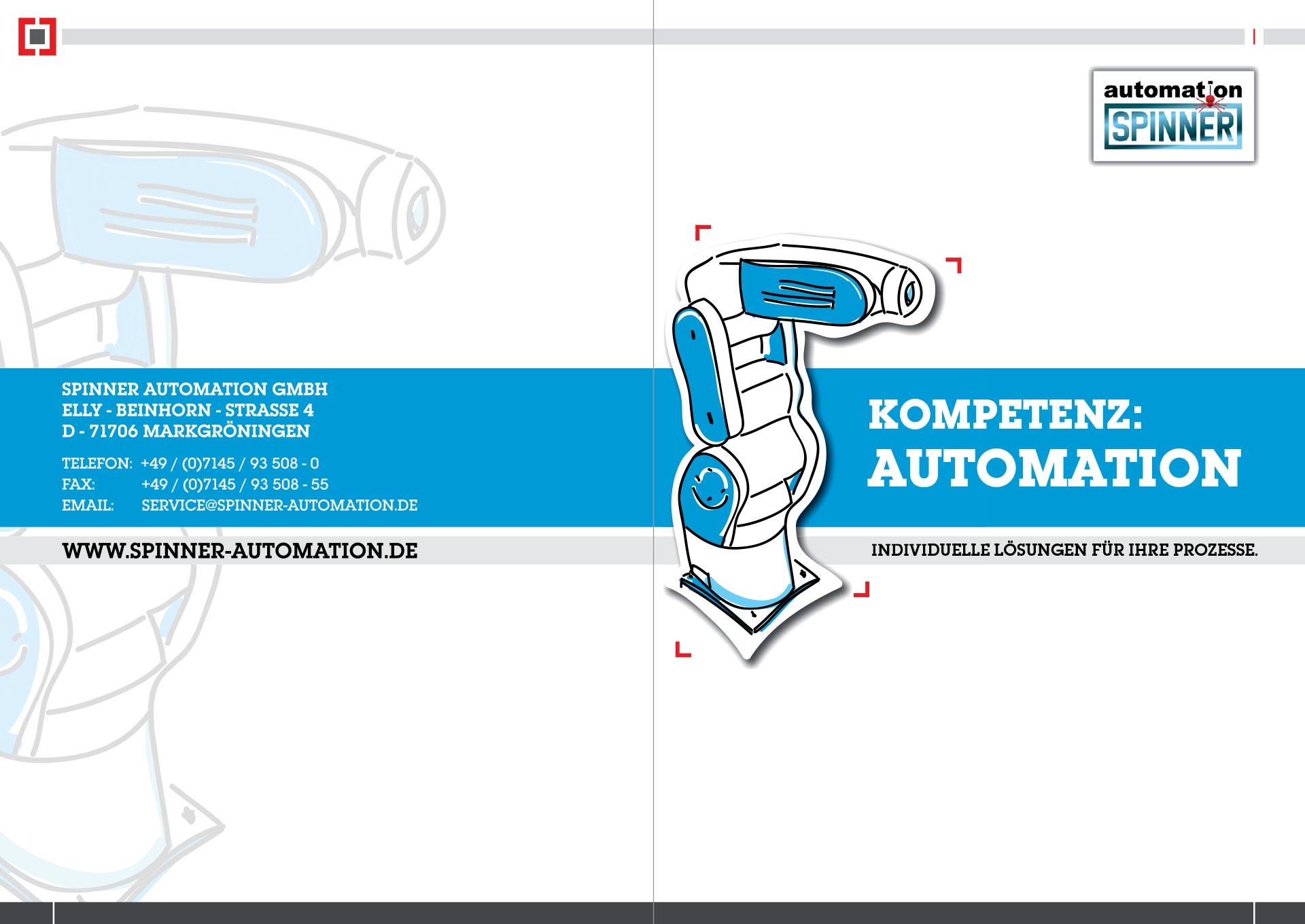 Spinner AG - Unternehmensbroschüre der Spinner automation