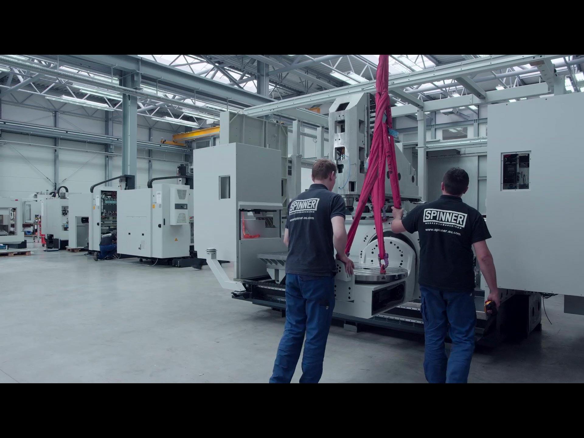 Spinner AG - Image Video der Spinner Werkzeugmaschinenfabrik