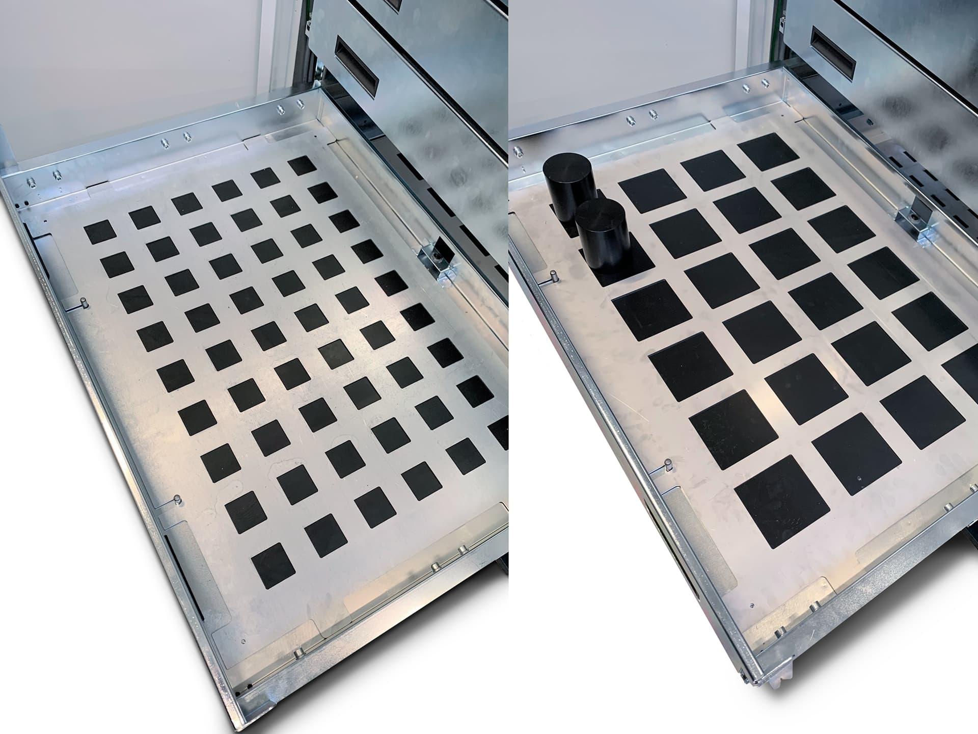 Spinner AG - 2 Varianten Inlays für die Einschübe der Robobox