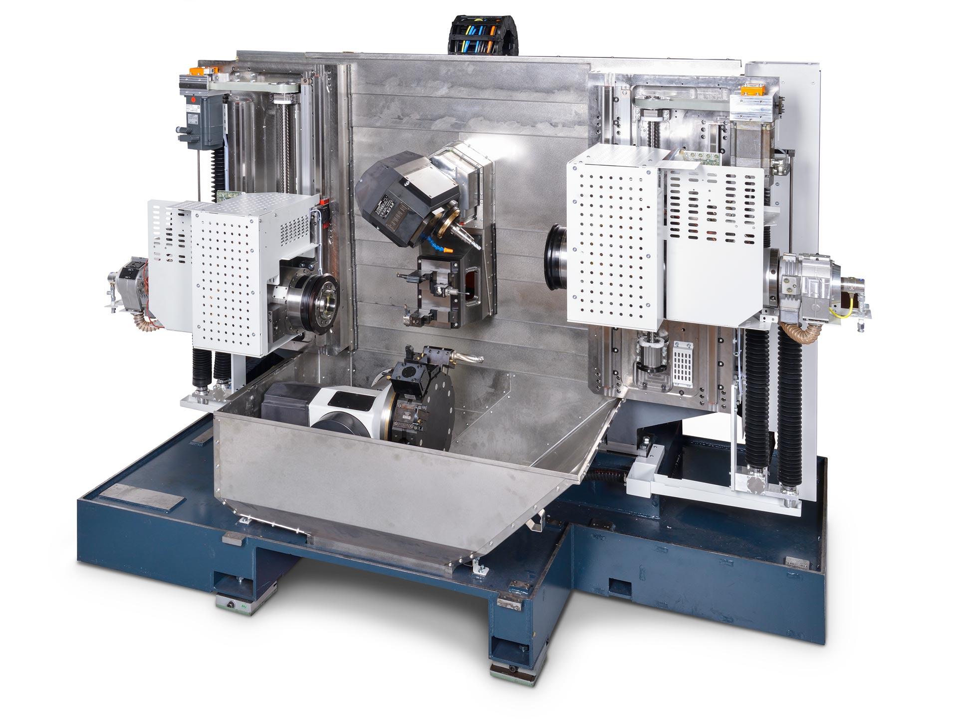 Spinner AG - Ultrapräzisionszentrum Microturn LTBS - Maschinenbett