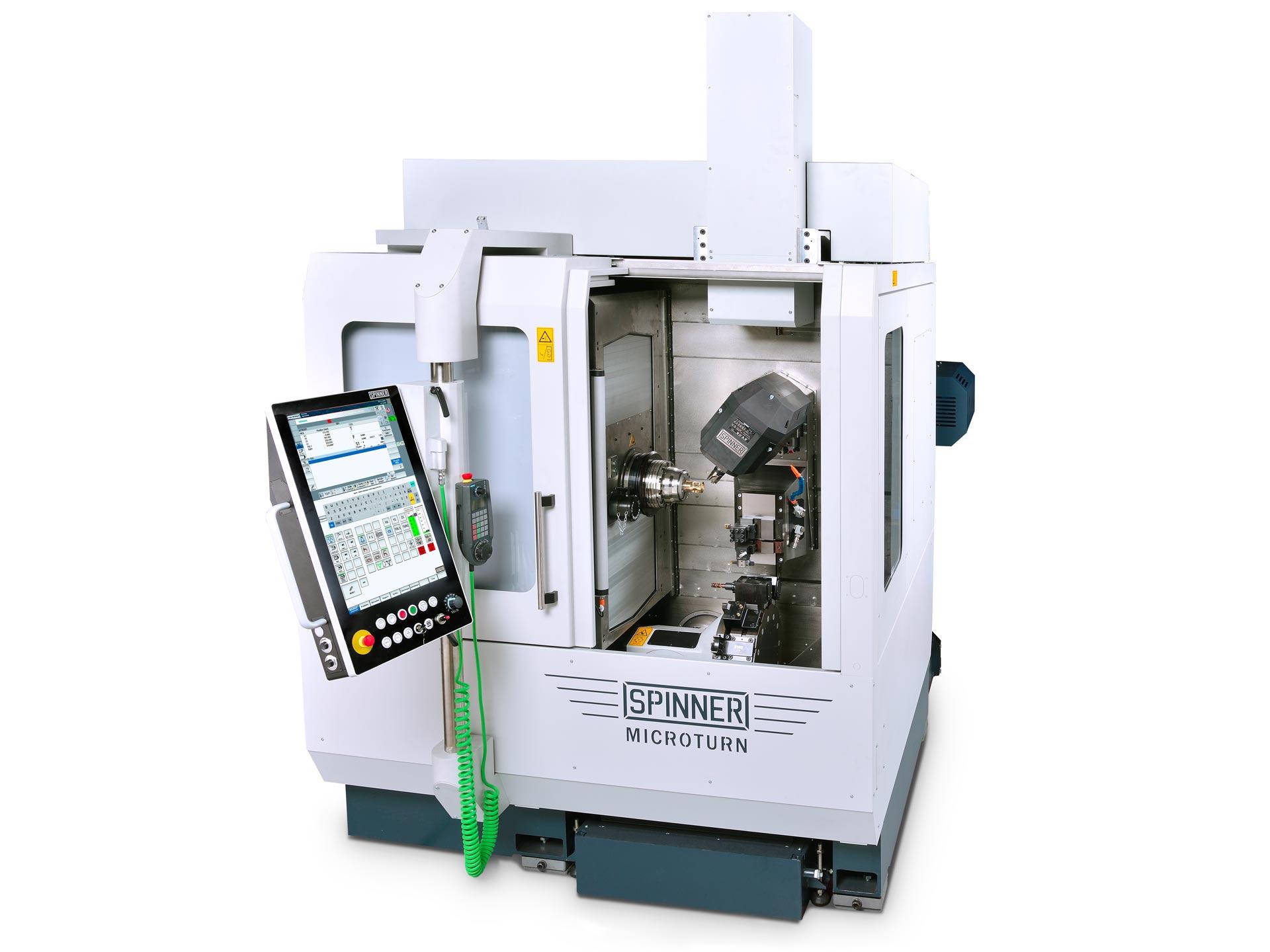 Spinner AG - Ultrapräzisionszentrum Microturn LTB