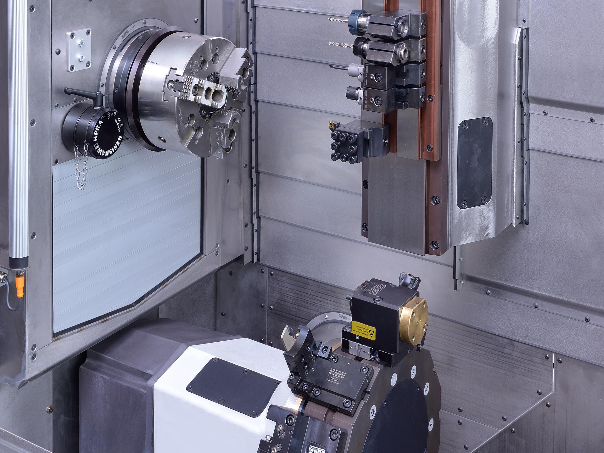 Spinner AG - Ultrapräzisionszentrum Microturn - Servo-Revolver