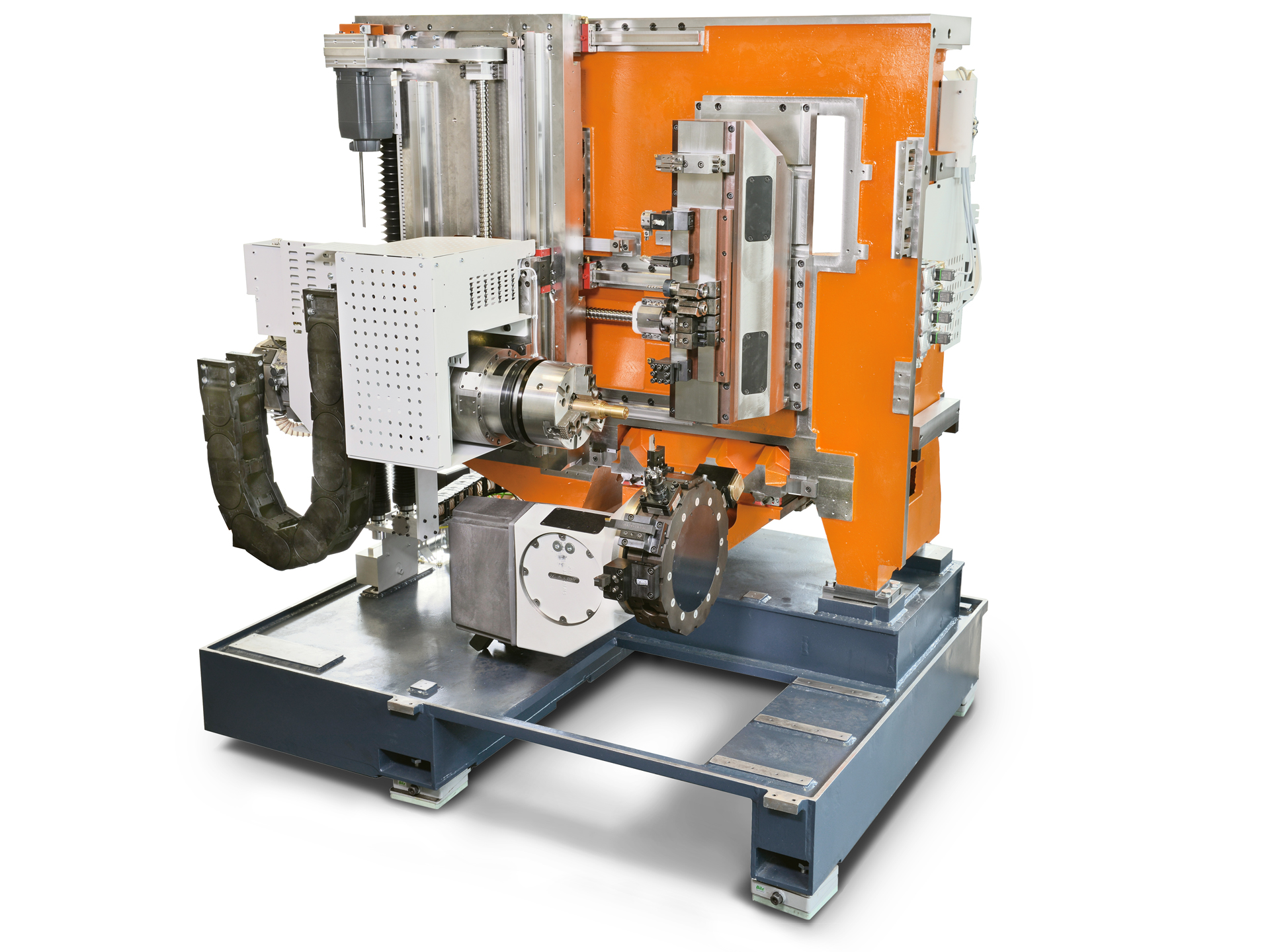 Spinner AG - Ultrapräzisionszentrum Microturn LT - vertikales Maschinenbett
