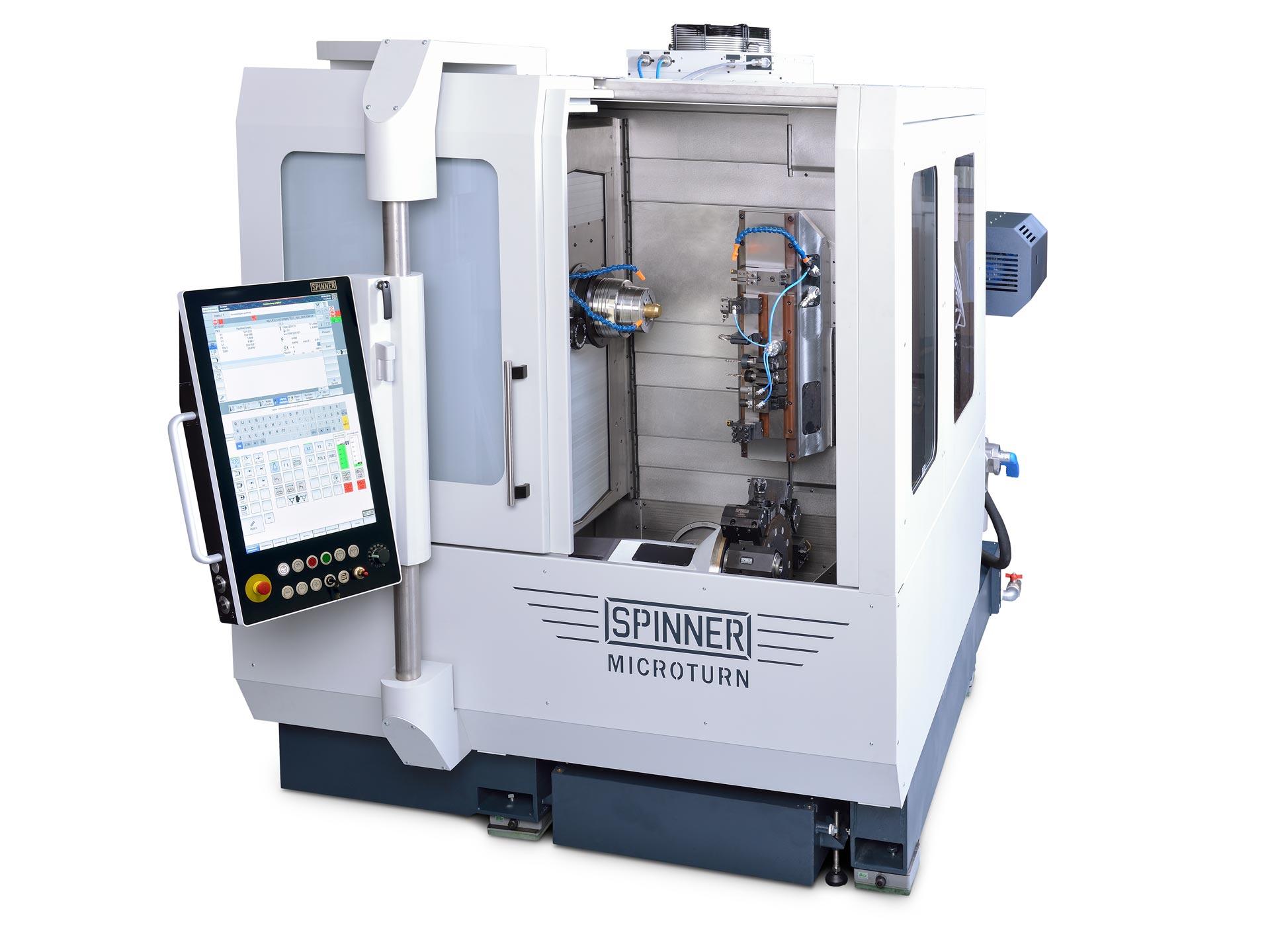 Spinner AG - Ultrapräzisionszentrum Microturn