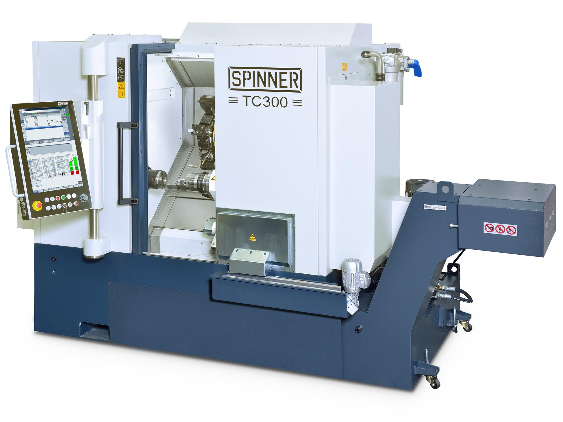 Spinner AG - Spinner TC300 mit Spinner Touch-Panel 4.0