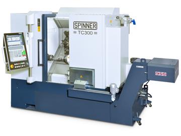 Spinner AG - Spinner TC300 mit Steuerung Siemens Sinumerik 840DE sl