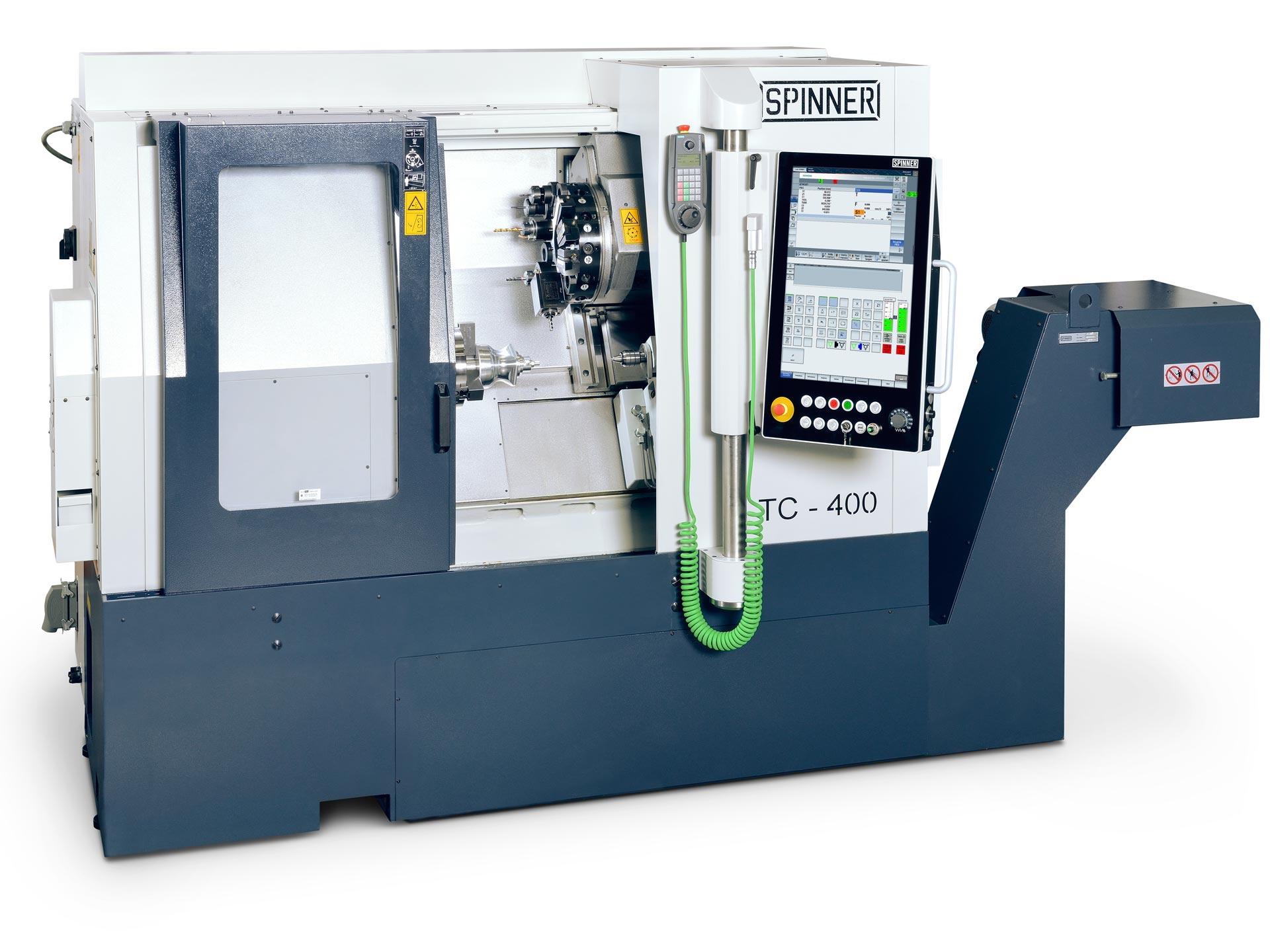 Spinner AG - leistungsstarke Universaldrehmaschine TC400
