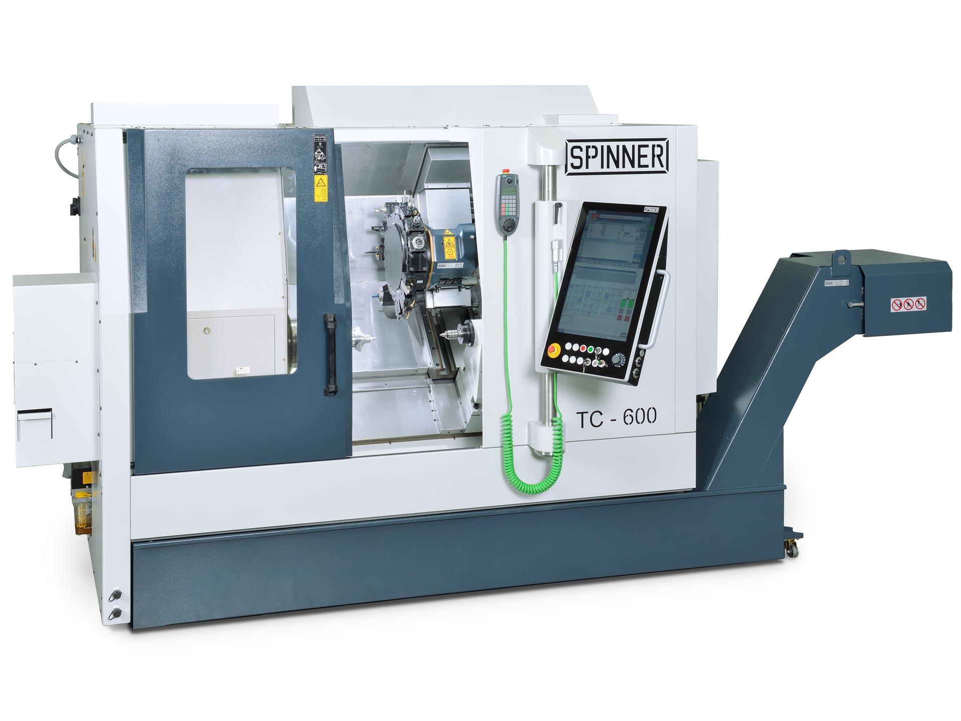 Spinner AG - leistungsstarke Universaldrehmaschine TC600