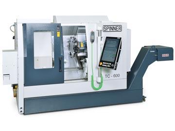 Spinner AG - Spinner TC600 mit Steuerung Siemens Sinumerik 840DE sl