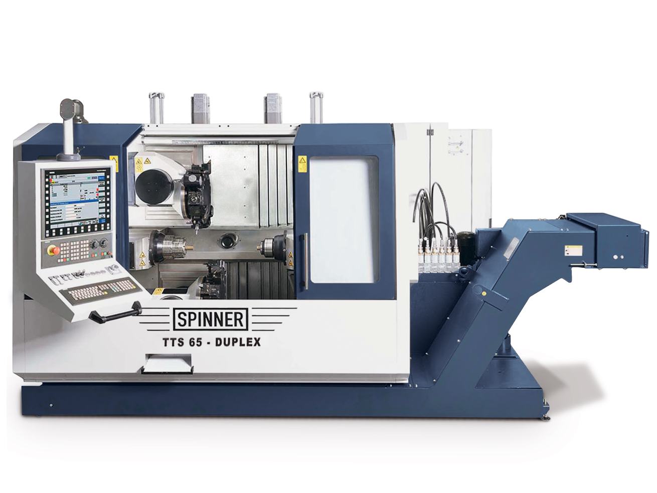 Spinner AG - Hochgeschwindigkeits-Produktionsdrehmaschine TTS-Duplex