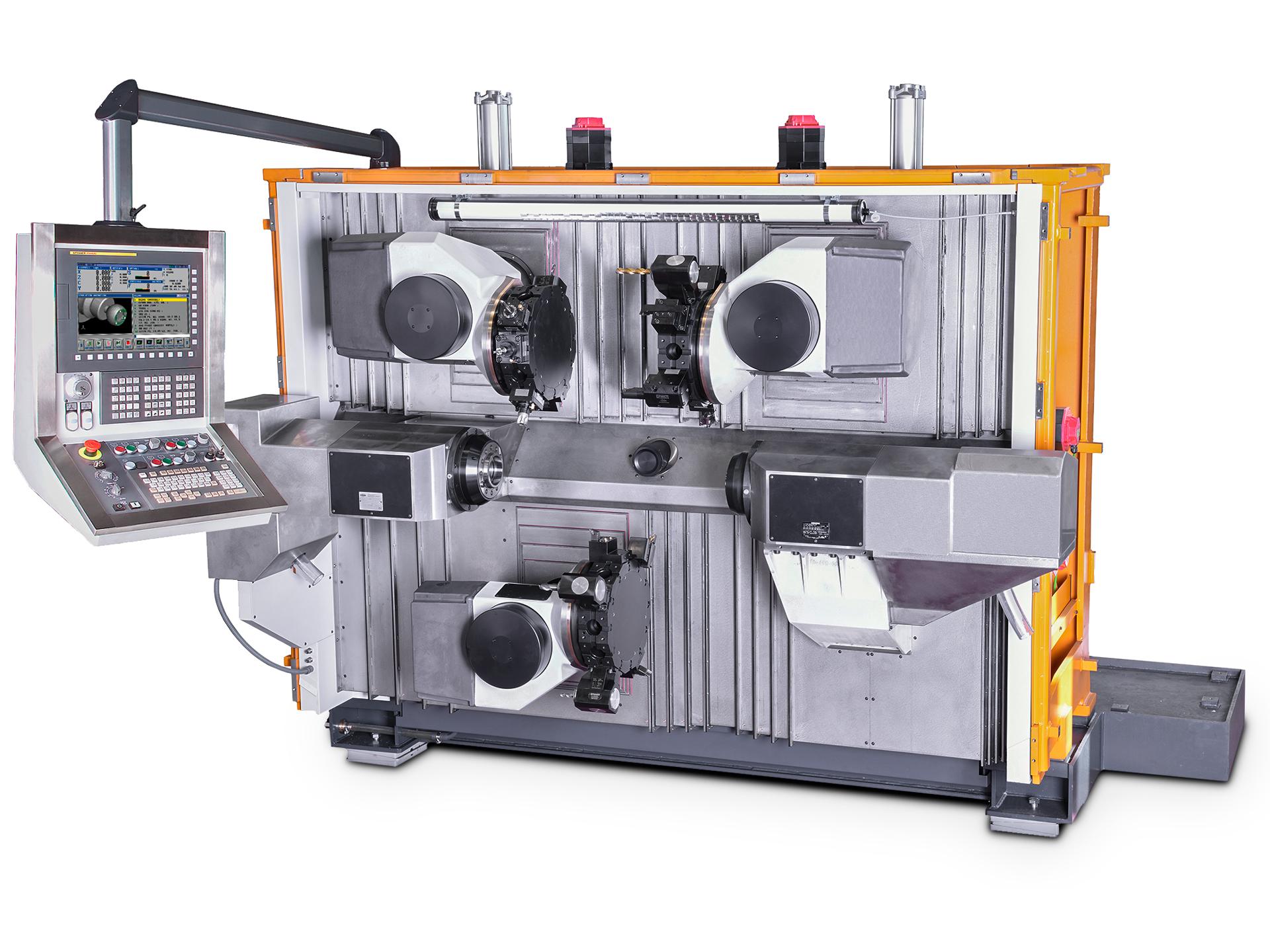 Spinner AG - Produktionsdrehmaschine TTS-Triplex - Maschinenbett