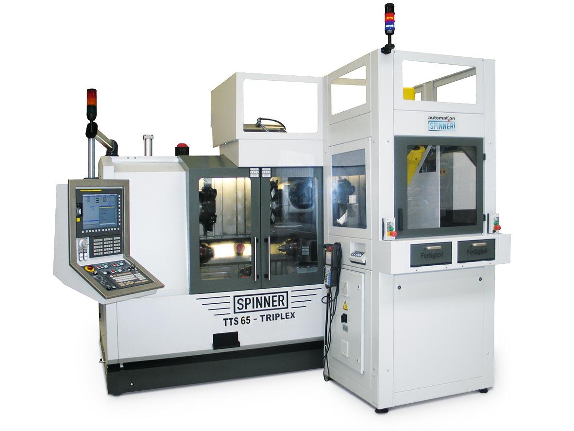 Spinner AG - Produktionsdrehmaschine TTS - Roboter