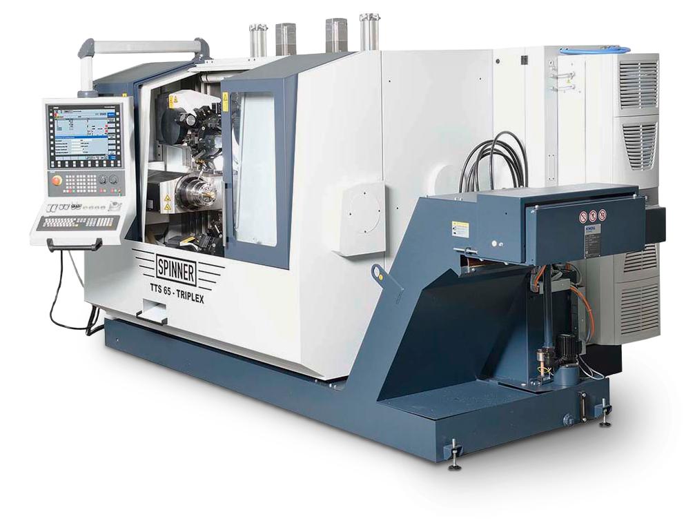 Spinner AG - Produktionsdrehmaschine TTS-Triplex - Seite