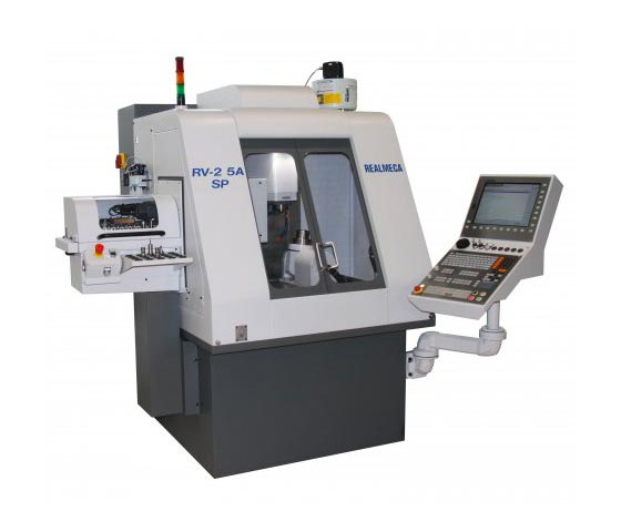 Spinner AG - Realmeca HSC-Fräsmaschine RV-2 5A SP