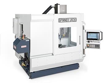 Spinner AG - Spinner 5-Achs-Universalbearbeitungszentrum U5-630 Compact mit Siemens Touch-Screen