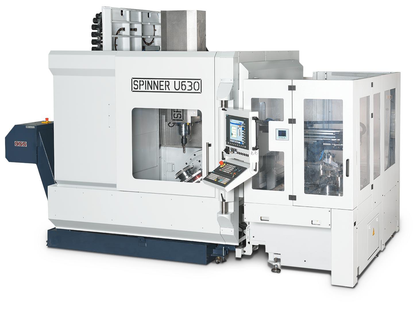 Spinner AG - Universalbearbeitungszentrum U5-630 mit Palette
