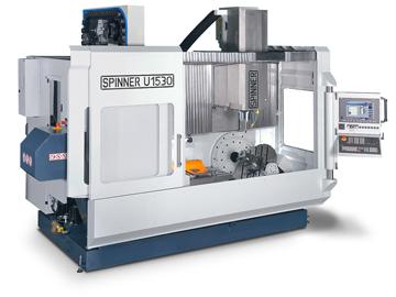 Spinner AG - Universalbearbeitungszentren U