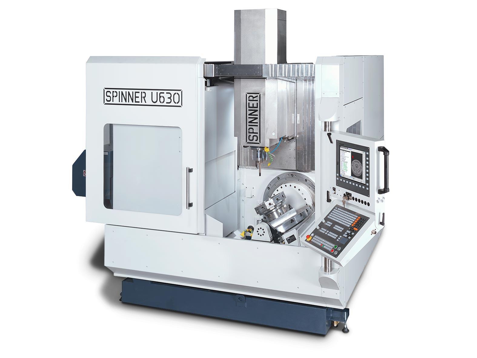 Spinner AG - Spinner 5-Achs-Universalbearbeitungszentrum U5-630 mit Spinner Touch-Panel 4.0