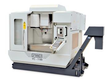 Spinner AG - Hochleistungsbearbeitungszentrum VC1150-Advanced mit Steuerung Heidenhain TNC 640 und Heidenhain Touch-Display
