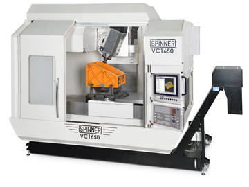 Spinner AG - Leistungsstarke Universaldrehmaschine TC300-52-SMCY V14