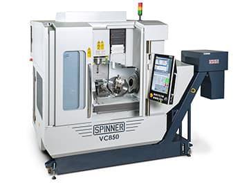 Spinner AG - Hochleistungsbearbeitungszentrum VC850-5A mit Steuerung Siemens Sinumerik 840DE sl