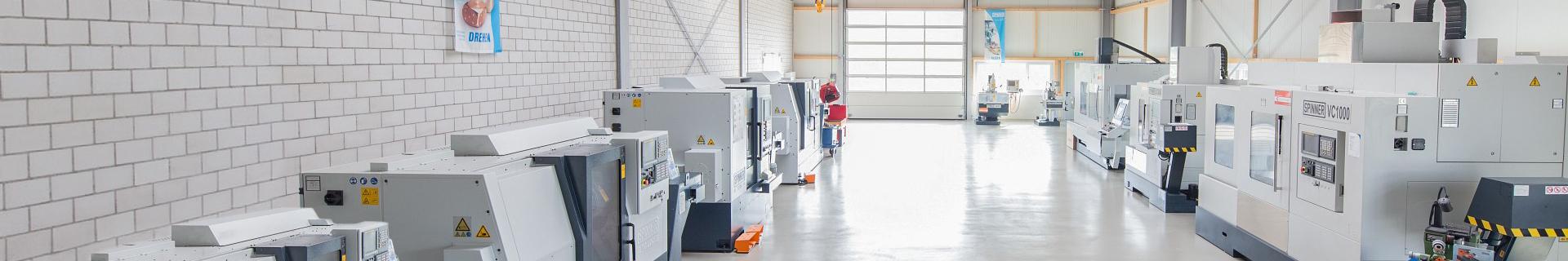 Spinner AG - Lagermaschinen