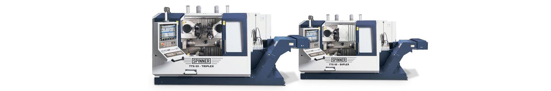 Spinner AG - Hochgeschwindigkeits-Produktionsdrehmaschine - TTS