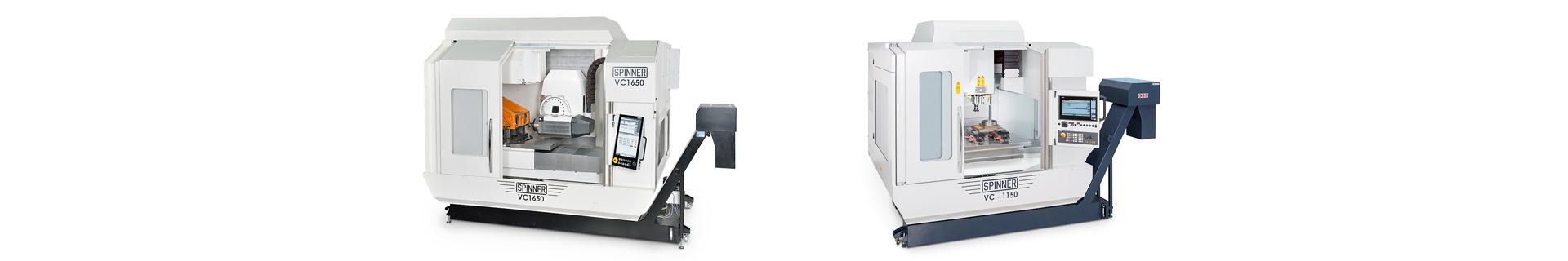 Spinner AG - Hochleistungsbearbeitungszentren - VC