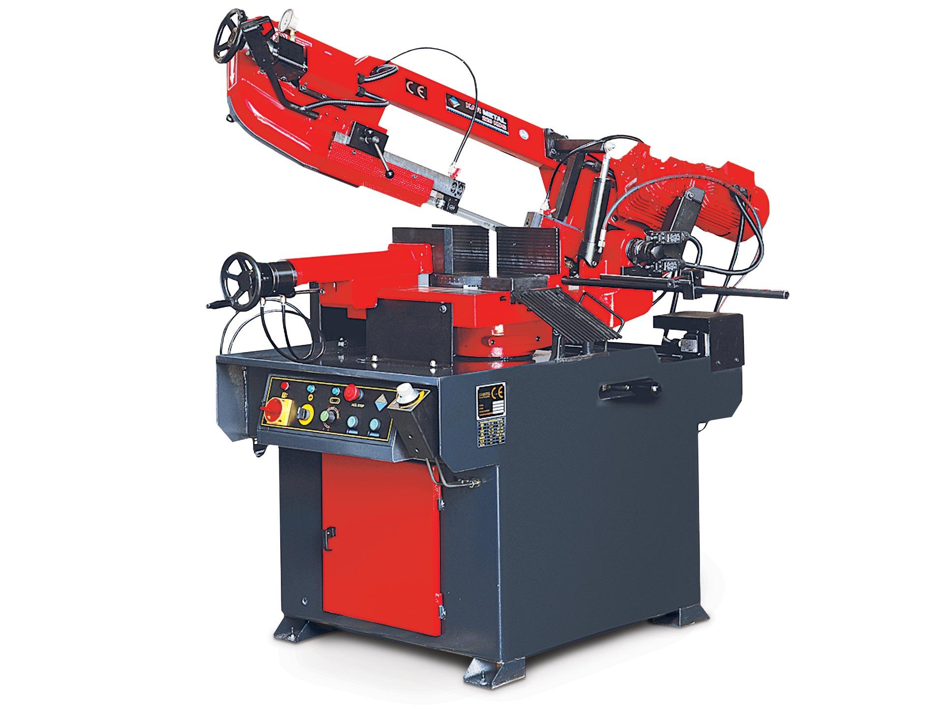 Spinner AG - Halbautomatische Bandsägemaschine Karmetal KMT 220 KDG
