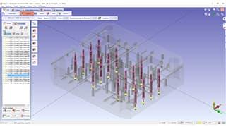 Spinner AG - GO2cam: Modul Hole Machining Feature (HMF) für Bohrlochfräsen in Volumendarstellung