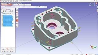 Spinner AG - GO2cam: Modul Hole Machining Feature (HMF) für Bohrlochfräsen