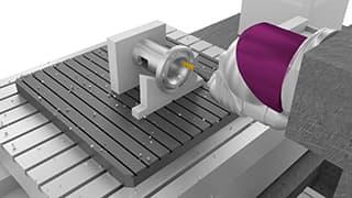 Spinner AG - GO2cam: Bearbeitung eines Bohrkopf-Frästeils