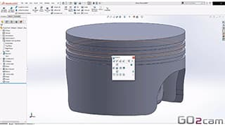 Spinner AG - GO2cam: Als Add-In voll in SolidWorks integriert