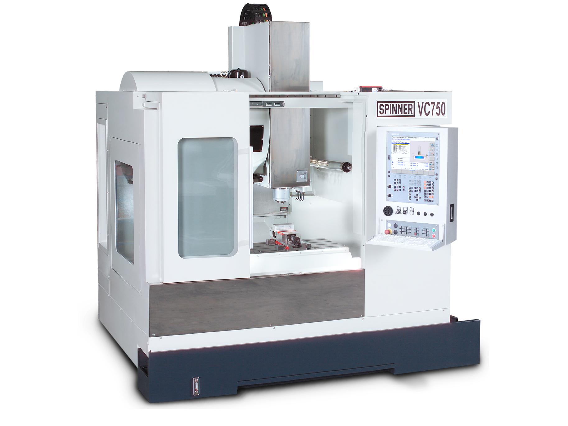 Spinner AG - Hochleistungsbearbeitungszentrum VC750-XL mit Heidenhain TNC 620