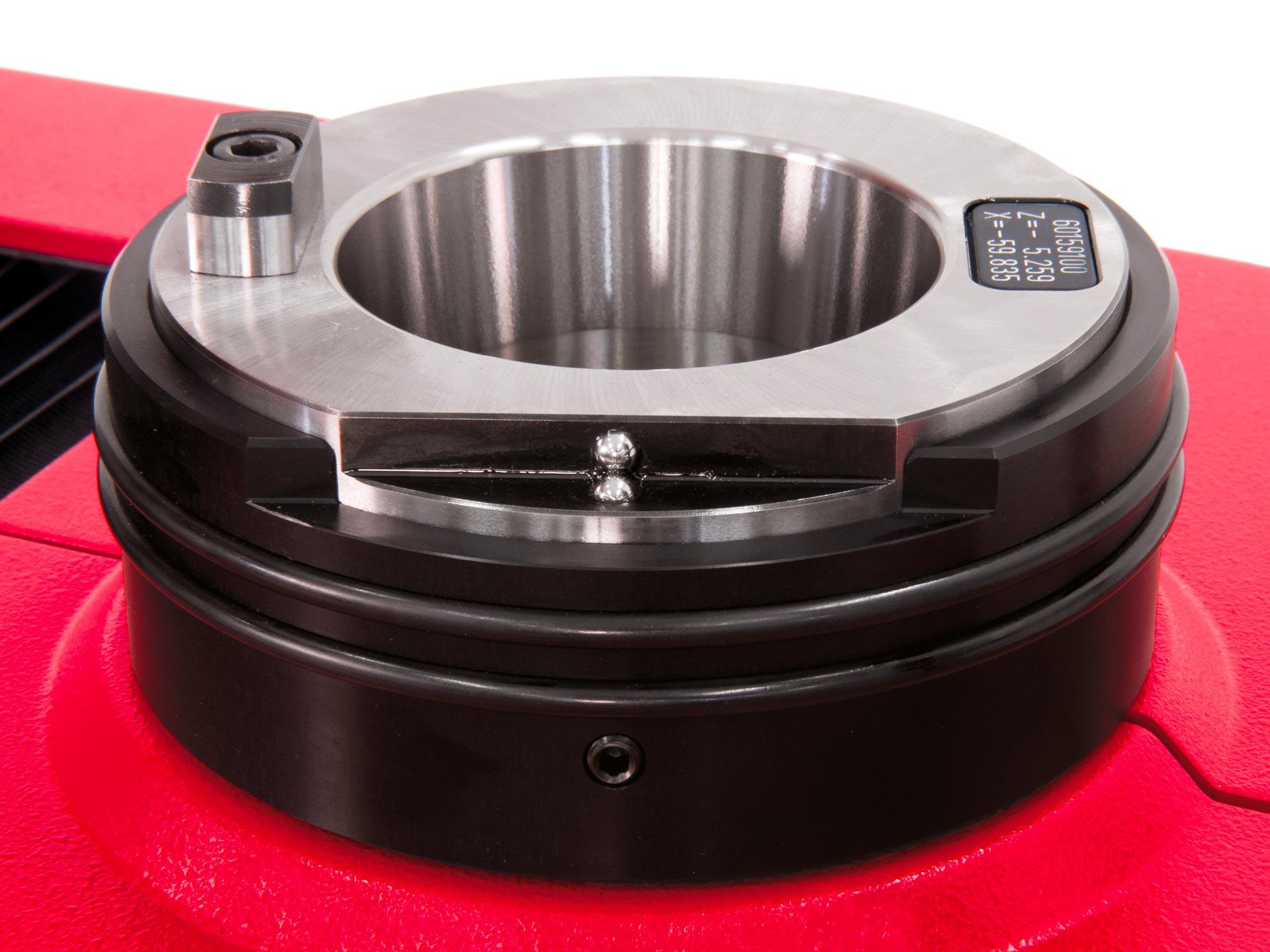 Spinner AG - EZset Werkzeugaufnahmespindel SK 50 mit hoher Rundlaufgenauigkeit