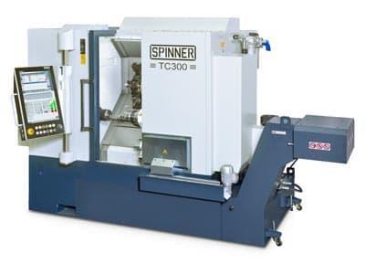 Spinner Leistungsstarke Universaldrehmaschine TC300-52-SMCY