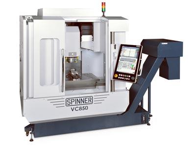 Spinner universelles Hochleistungsbearbeitungszentrum VC850
