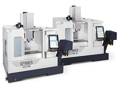 Spinner universelle Hochleistungsbearbeitungszentren VC750
